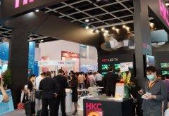 香港电子展上HKC展台遭围